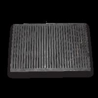 """Решетка барбекю 560х370 мм GRAND РБ1 (чугун) - Интернет-магазин строительных и отделочных материалов, кровли, фасадов, печей, каминов Компании """"Интер -Технология""""."""