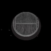 """Решетка барбекю под казанную плиту D400 GRAND РБ3-КП (чугун) - Интернет-магазин строительных и отделочных материалов, кровли, фасадов, печей, каминов Компании """"Интер -Технология""""."""
