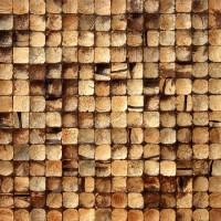 """Кокосовая Мозаика """"Латте Интерно"""" 42*42см (3*3см) - Интернет-магазин строительных и отделочных материалов, кровли, фасадов, печей, каминов Компании """"Интер -Технология""""."""