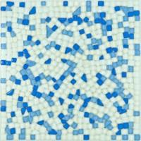 """Стеклянная мозаика LSK (BLS)430-5/4*300*300 - Интернет-магазин строительных и отделочных материалов, кровли, фасадов, печей, каминов Компании """"Интер -Технология""""."""