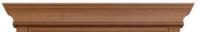 """STATUS Карниз Классика дуб капучино 800 - Интернет-магазин строительных и отделочных материалов, кровли, фасадов, печей, каминов Компании """"Интер -Технология""""."""