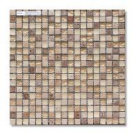"""BERTINI MOSAIC Мозайка миксы из стекла Gold stone//мозайка 1,5*1,5 сетка 30,5*30,5*8 - Интернет-магазин строительных и отделочных материалов, кровли, фасадов, печей, каминов Компании """"Интер -Технология""""."""