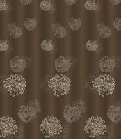 """Штора для ванной """"Brown vintage"""" 180*200см, 100% пэ, с утяжелителем С2018Т046 - Интернет-магазин строительных и отделочных материалов, кровли, фасадов, печей, каминов Компании """"Интер -Технология""""."""