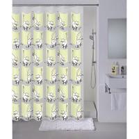 """MILARDO Штора для ванной комнаты 180*180см п/э cozy cats 528V180M11 - Интернет-магазин строительных и отделочных материалов, кровли, фасадов, печей, каминов Компании """"Интер -Технология""""."""