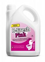 """Жидкость д/биотуалетов B-Fresh Pink (верхний бачок) 2,0л - Интернет-магазин строительных и отделочных материалов, кровли, фасадов, печей, каминов Компании """"Интер -Технология""""."""