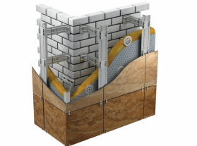 """Типы фасадных систем - Интернет-магазин строительных и отделочных материалов, кровли, фасадов, печей, каминов Компании """"Интер -Технология""""."""